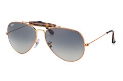 KÍNH MÁT UNISEX RAY-BAN OUTDOORSMAN HAVANA COLLECTION S-RAY 3029-19771(62IT)
