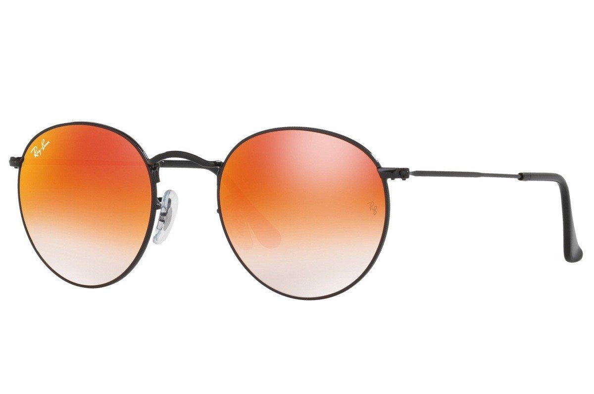 KÍNH MÁT UNISEX RAY-BAN ROUND FLASH LENSES GRADIENT S-RAY 3447-002/4W(50IT)