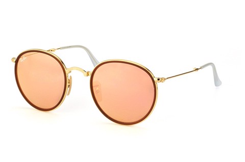KÍNH MÁT UNISEX RAY RAY-BAN ROUND FOLDING S-RAY 3517-001/Z2(51IT)