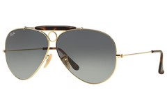 KÍNH MÁT UNISEX RAY-BAN SHOOTER HAVANA COLLECTION S-RAY 3138-181/71(62IT)