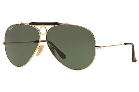 KÍNH MÁT NAM RAY-BAN SHOOTER HAVANA COLLECTION S-RAY 3138-181(62IT)