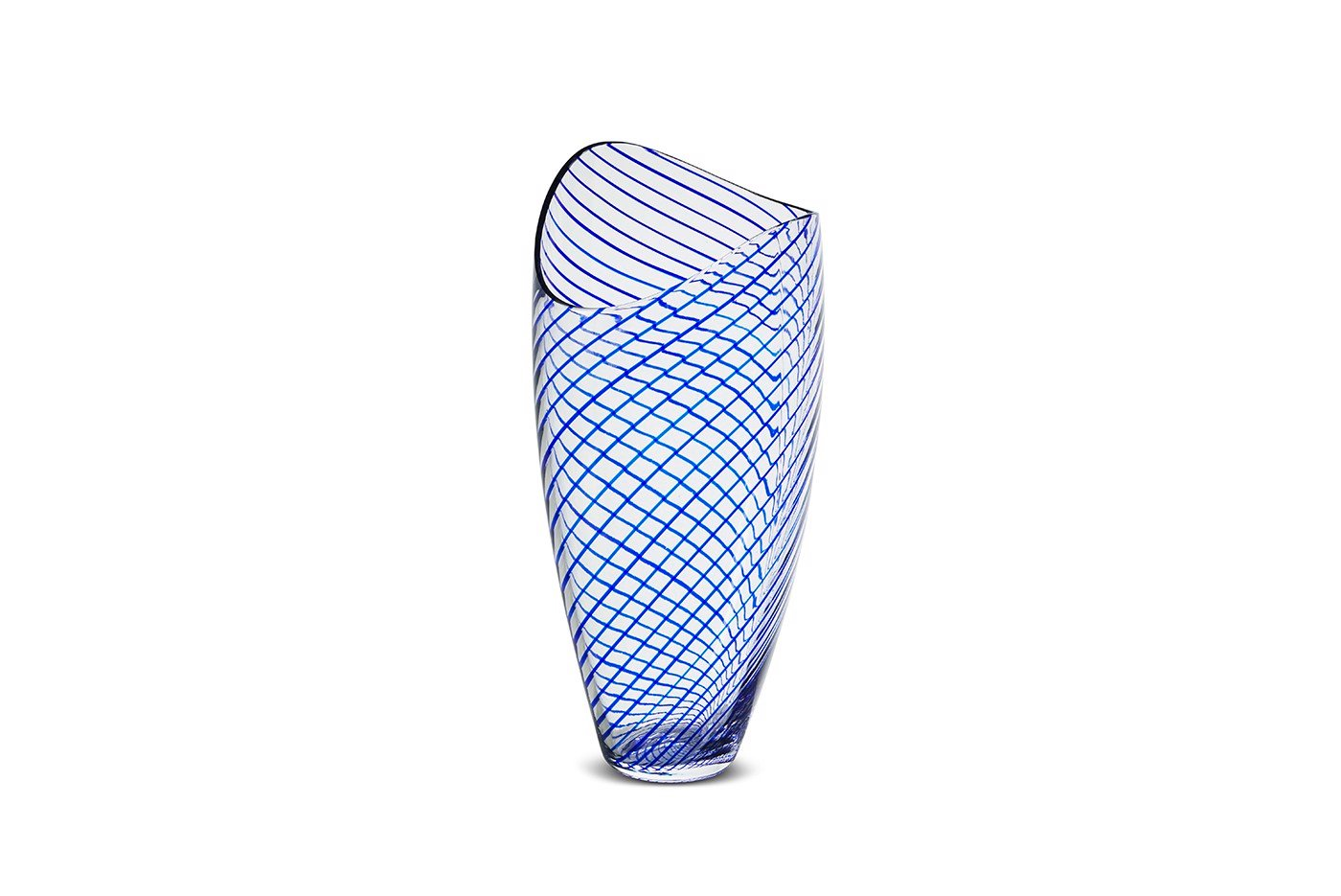 NUDE - Concentrics vase - Blue (Tall)
