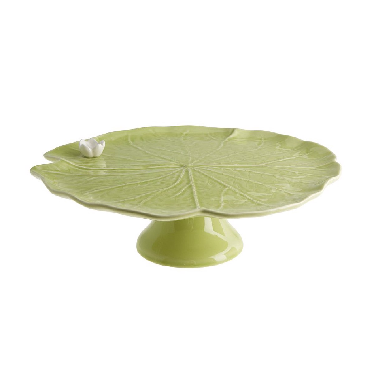 Bordallo - Waterlily - Cake stand - 32cm