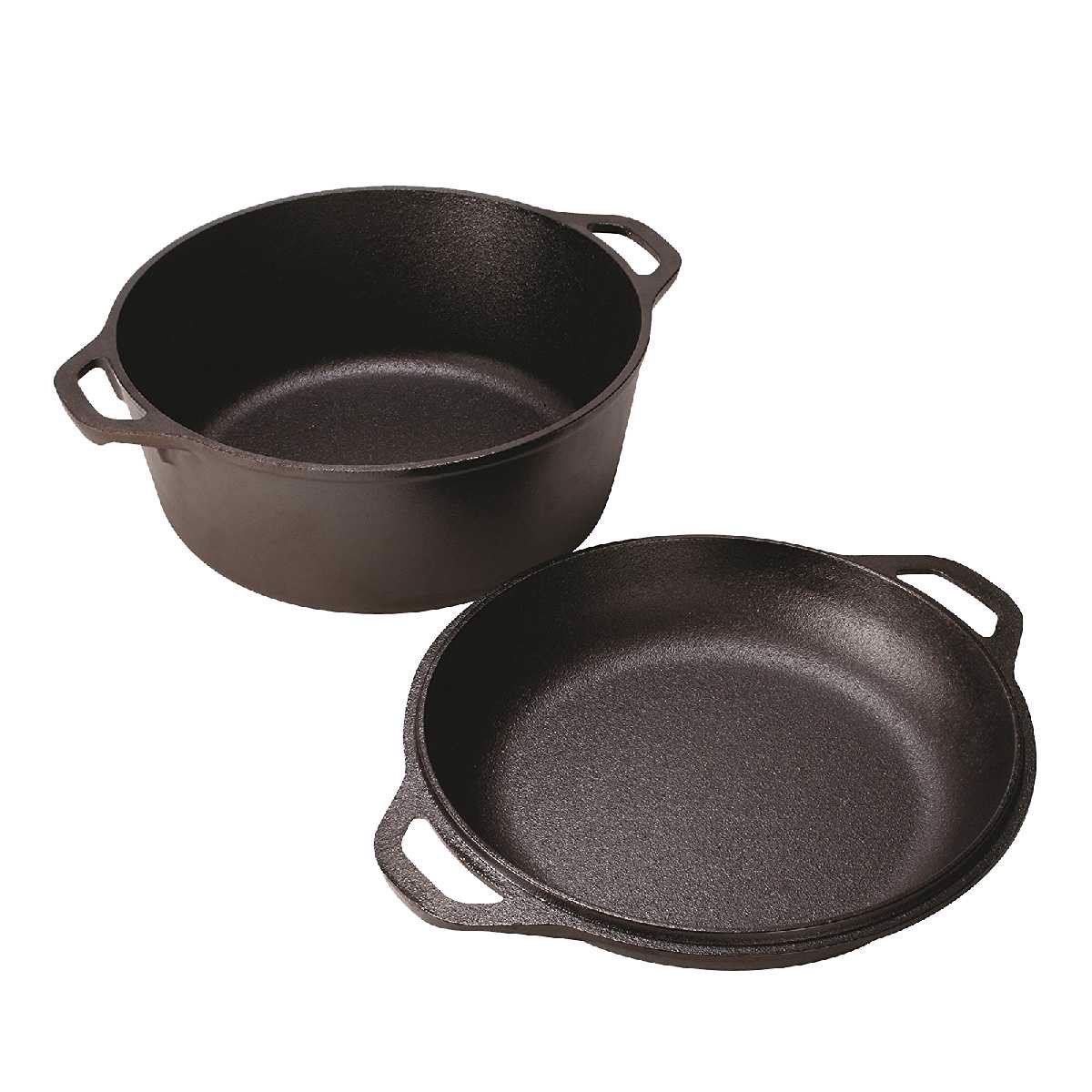 Lodge - Cast Iron Double Dutch Oven set
