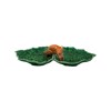 Bordallo - Leaves - Double leaf (fox) - 37cm