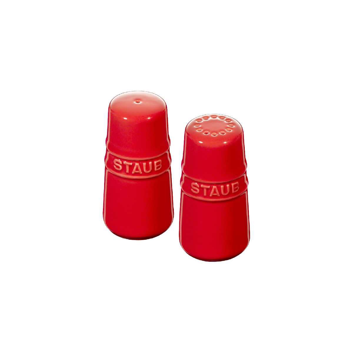 Staub - Salt and Pepper shaker - Cherry
