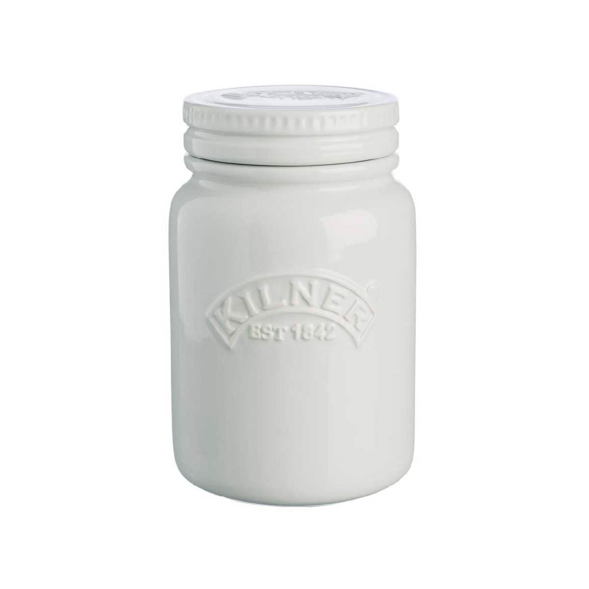 Kilner - Ceramic push - Moonlight Grey - 0.6L