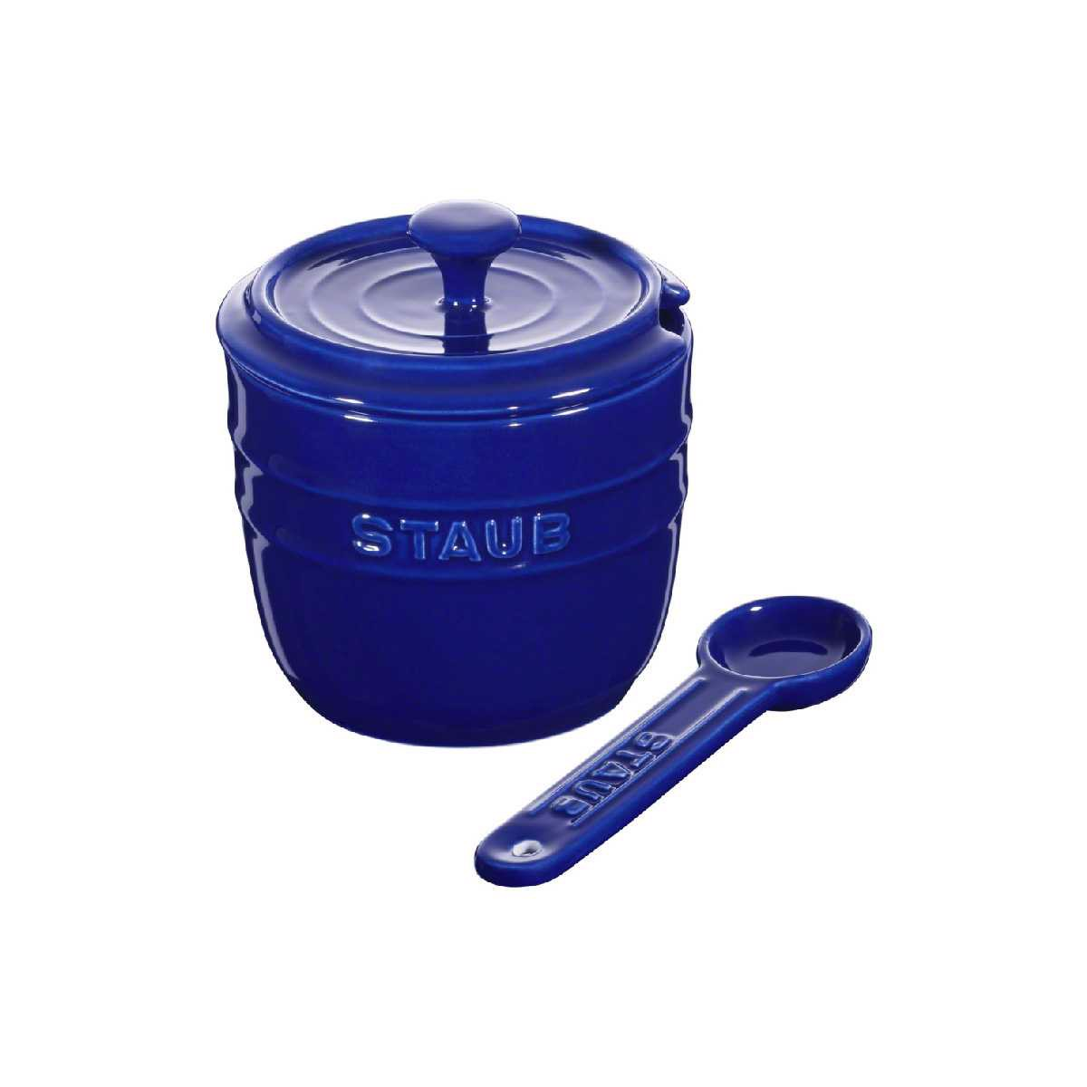 Staub - Sugar Bowl - Dark blue