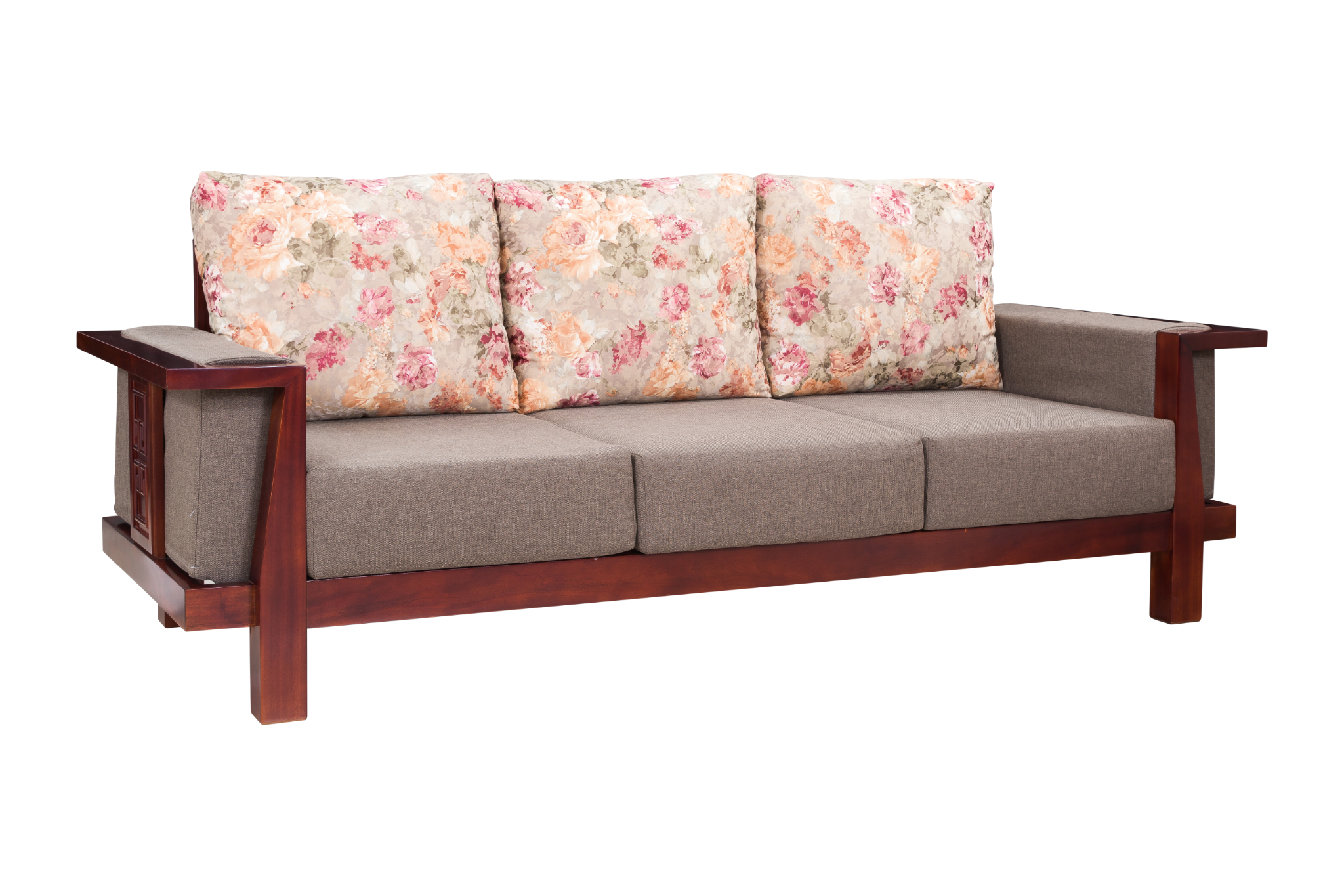 Sofa gỗ Song Hỷ 011X