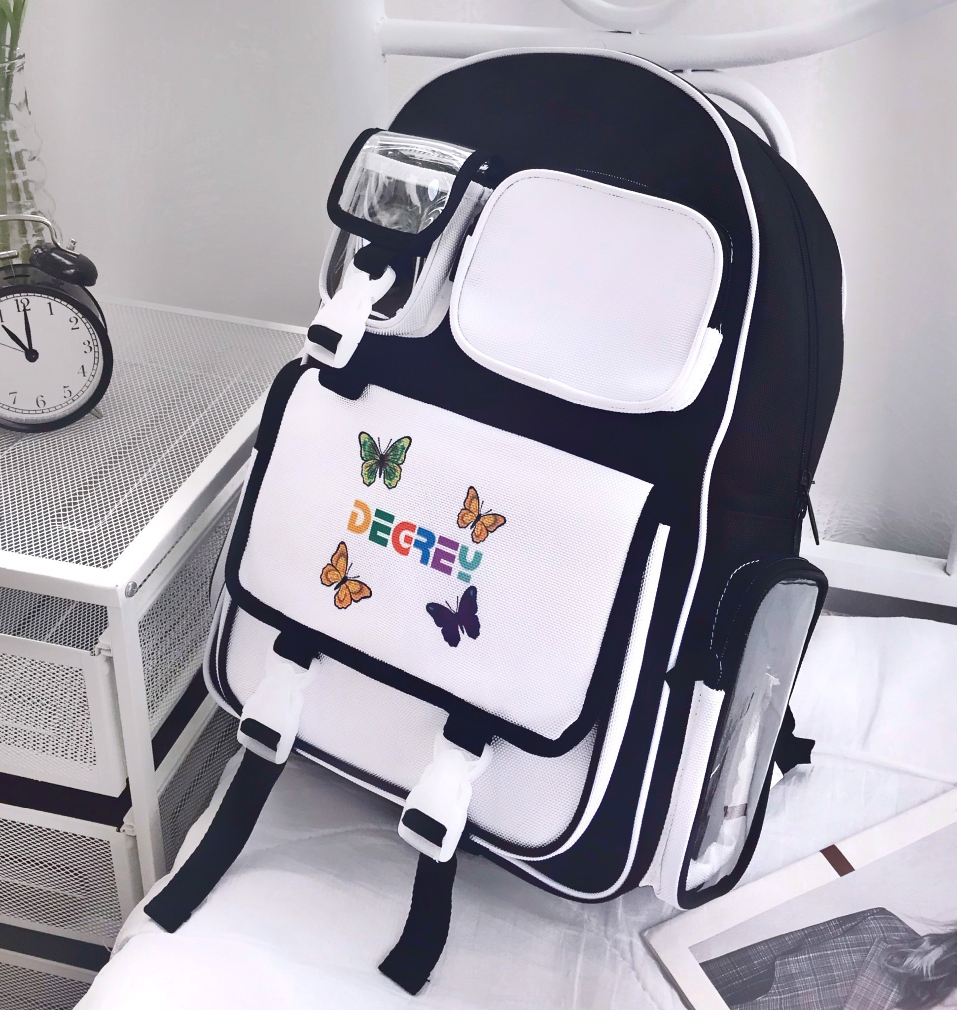 Degrey Butterfly Backpack Đen - DBBP Đen