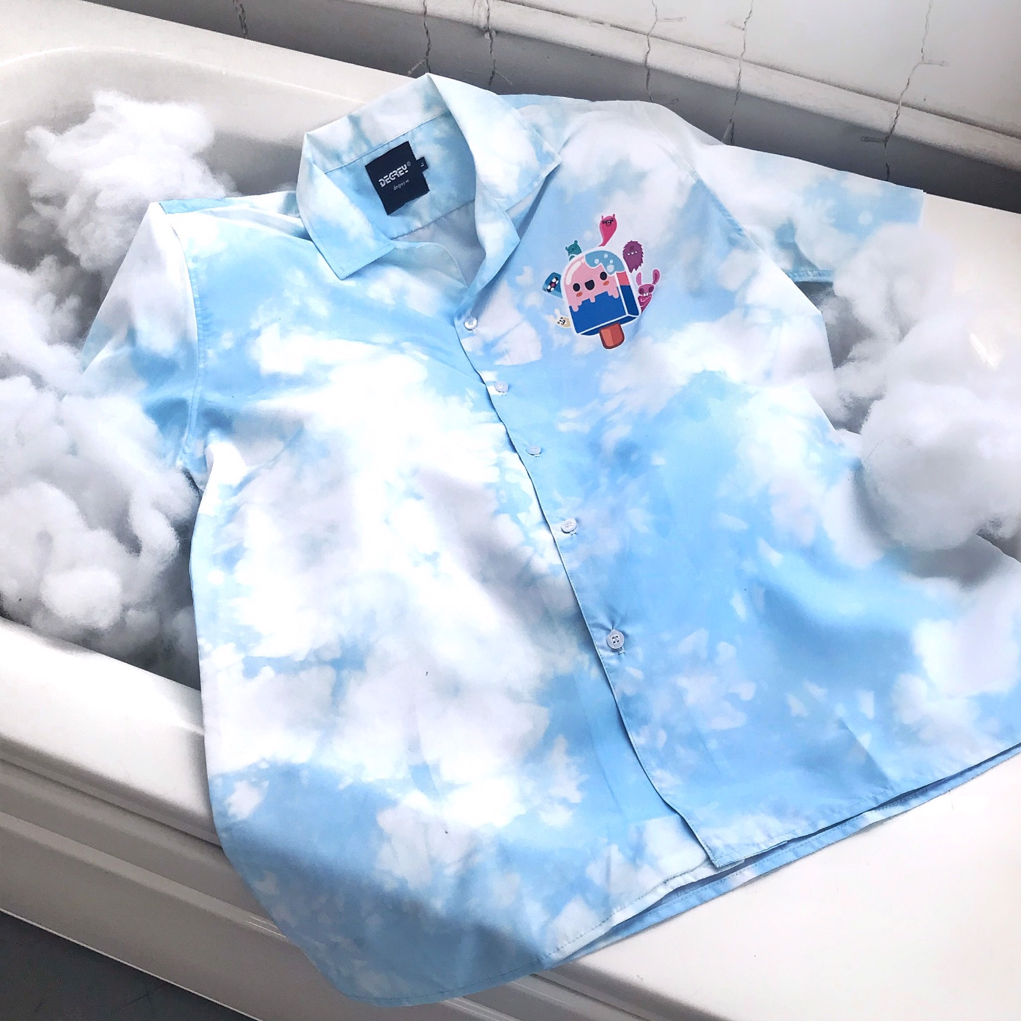 Ice Cream Shirt - ICS Blue