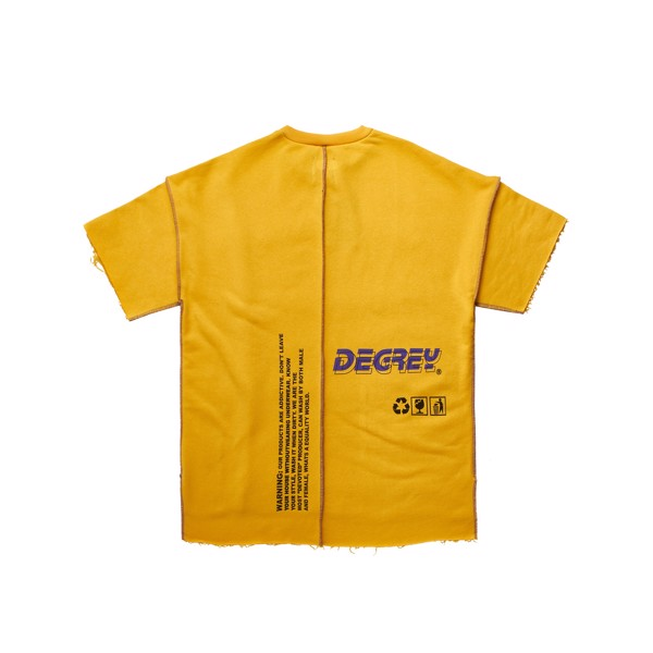 Warning Tee YELLOW - WT VÀNG