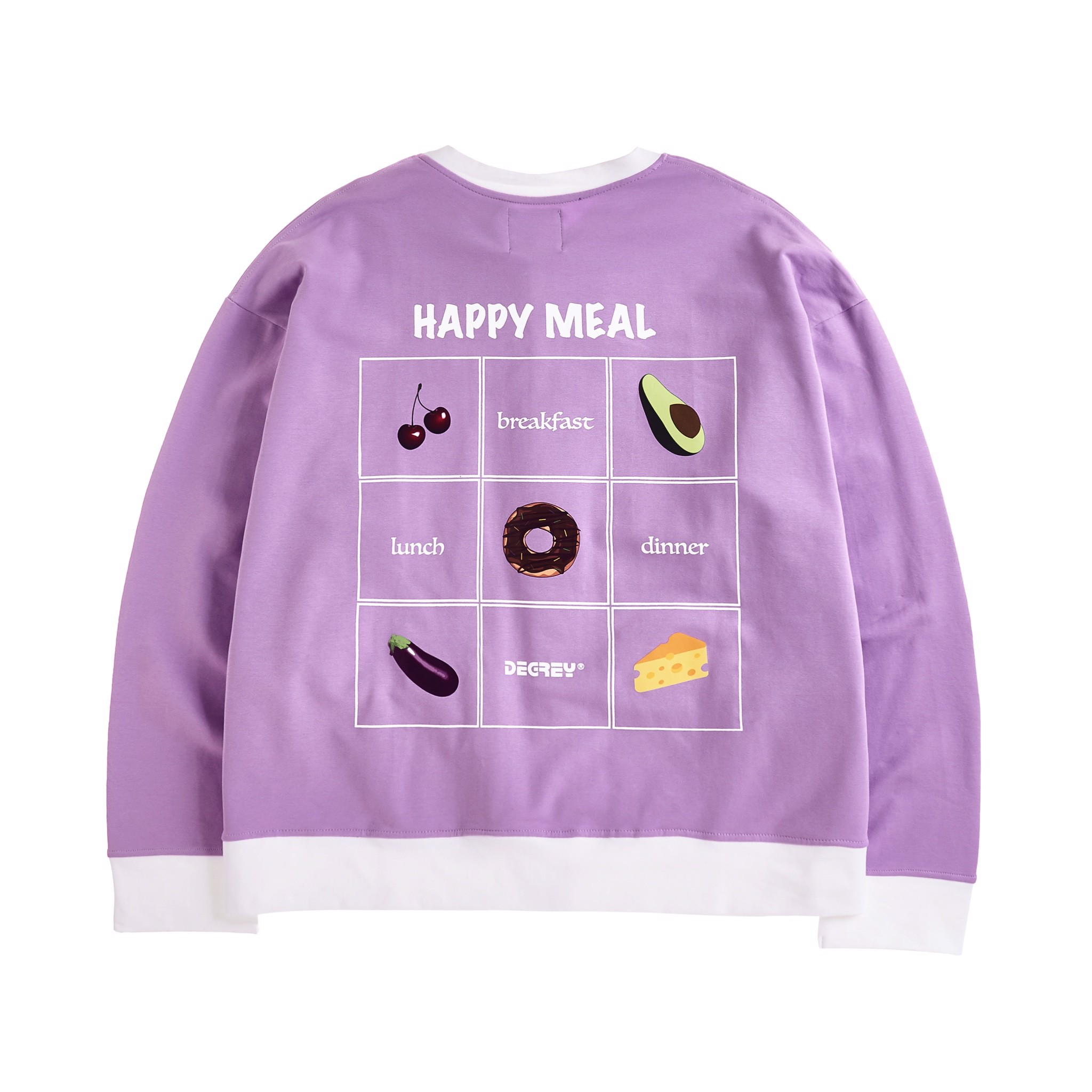 Happy Meal Jacket Tím - HMJ Tím