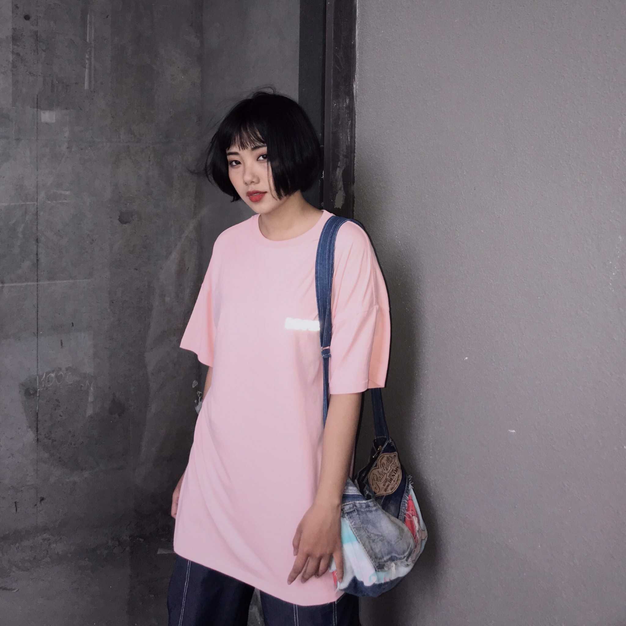 REGULAR TEE - RT Hồng