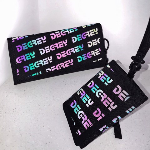 Degrey Hologram Short Wallet - DHSW