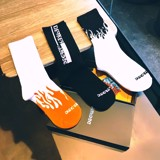 Orange Fire Socks - OFS