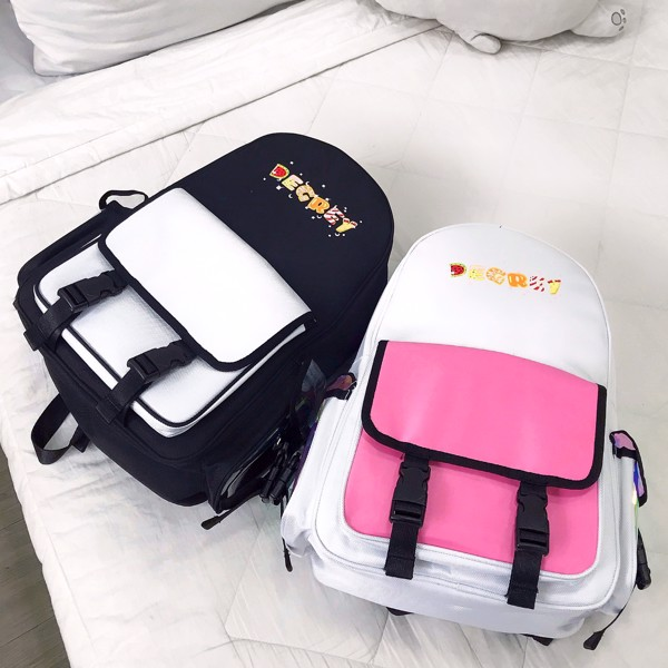 Candy Cake Backpack Trắng- CCBP Trắng