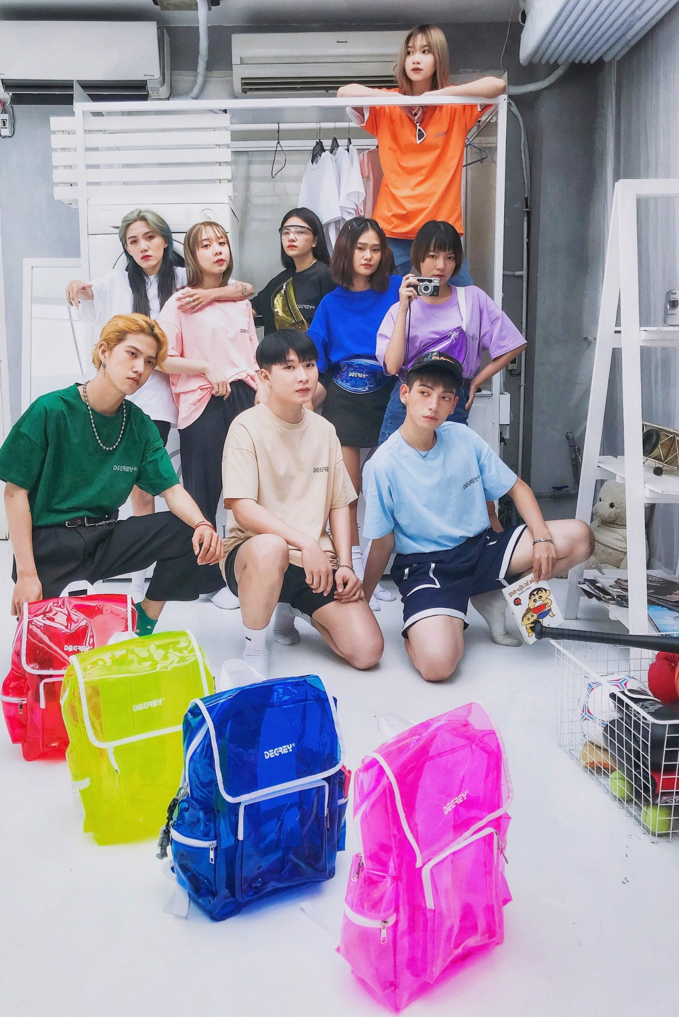 REGULAR BACKPACKS PINK - RGB HỒNG
