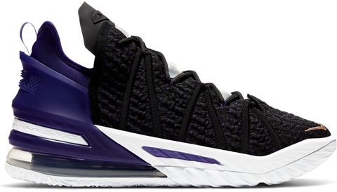 Nike Lebron 18 Lakers CQ9283-004
