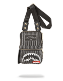 Sprayground Reverse Black Shark In Paris Sling