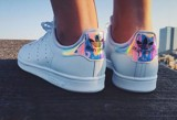 Adidas Orginals Stan Smith  White Iridescent 'Hologram' AQ6272