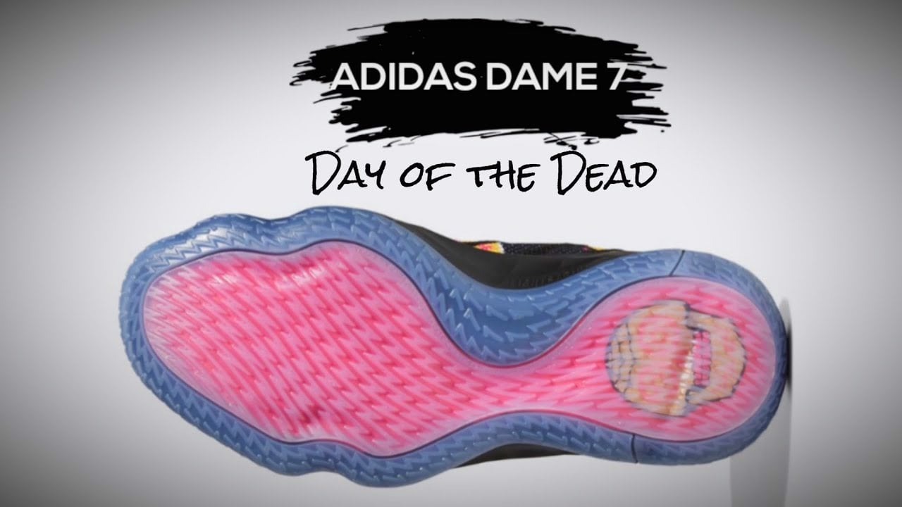 Adidas Dame 7 'Day Of The Dead' FZ3189