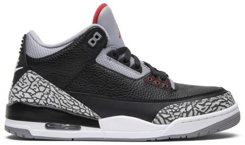 Nike Air Jordan 3 Retro OG 'Black Cement' 2018 854262-001