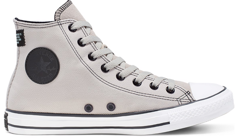 converse chuck taylor all star textile leather 166005c