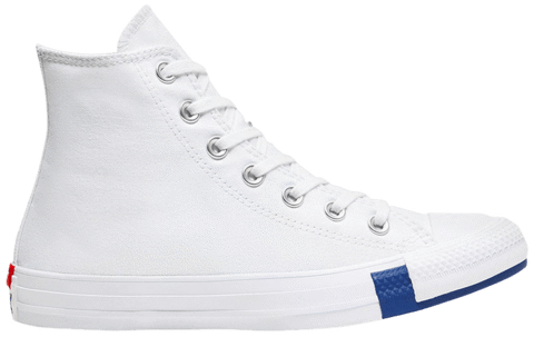 Converse Chuck Taylor All Star High 'Logo Play - White Rush Blue' 166735C