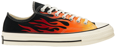 Converse Chuck 70 Low 'Archival Flame Print' 167813C