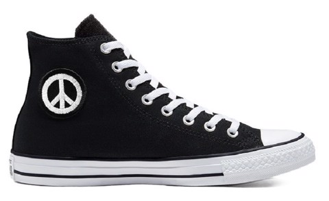 converse chuck taylor all star high empowered black 167891v