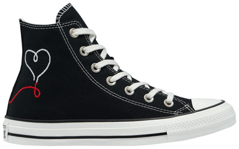 Converse Chuck Taylor All Star High 'Made with Love - Black' 171158F