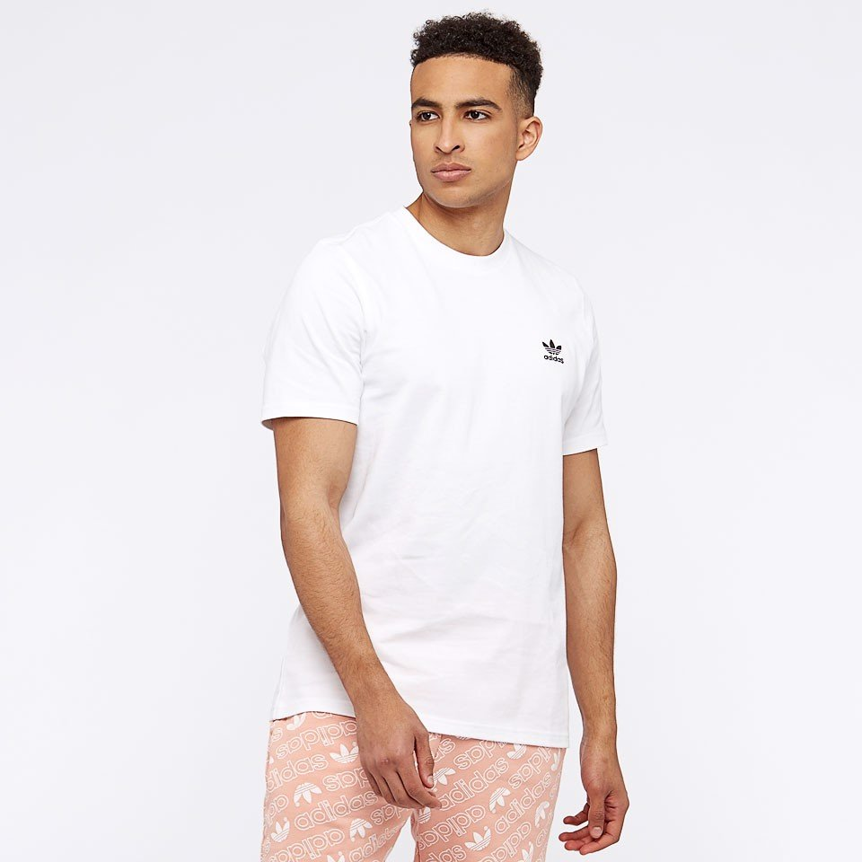 Áo Adidas Originals adicolor T-Shirt With Embroided Logo White CW0712