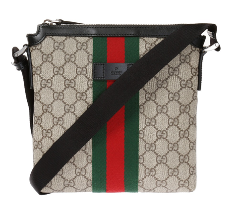 tui gucci gg supreme web messenger bag 471454 khngn 9692