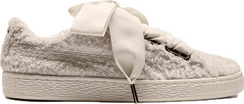 Puma Basket Heart Teddy 'Whisper White' 367030-01