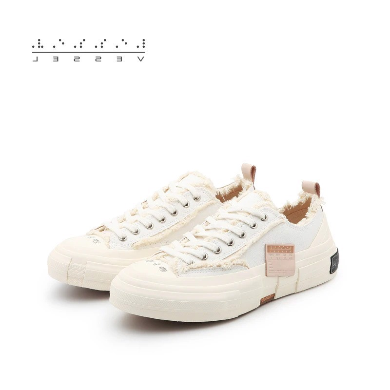 Xvessel G.O.P Low All-White
