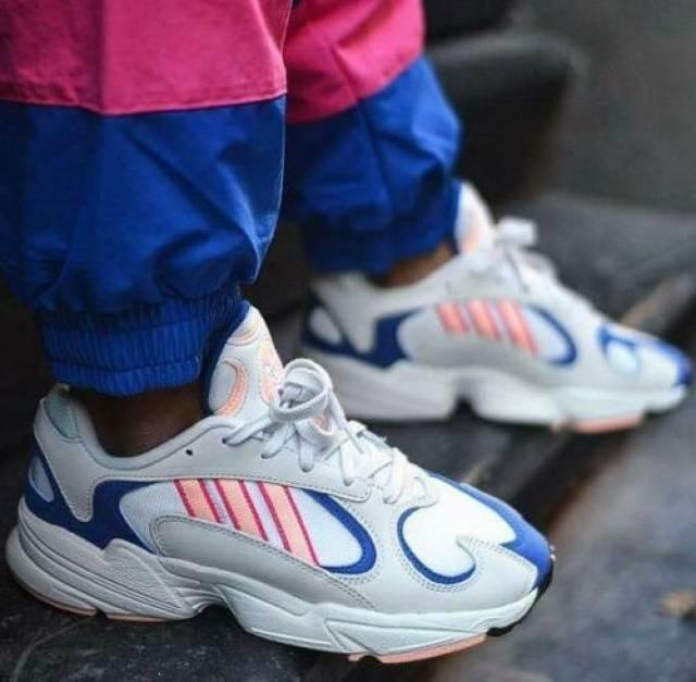Adidas Yung 1 'Clear Orange Royal'  BD7654