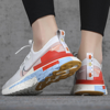 Giày Nike React Infinity Run Flyknit Psychic Blue Coral CU0430 001