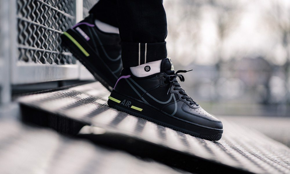 Nike Air Force 1 React 'Violet Star' CD4366-001