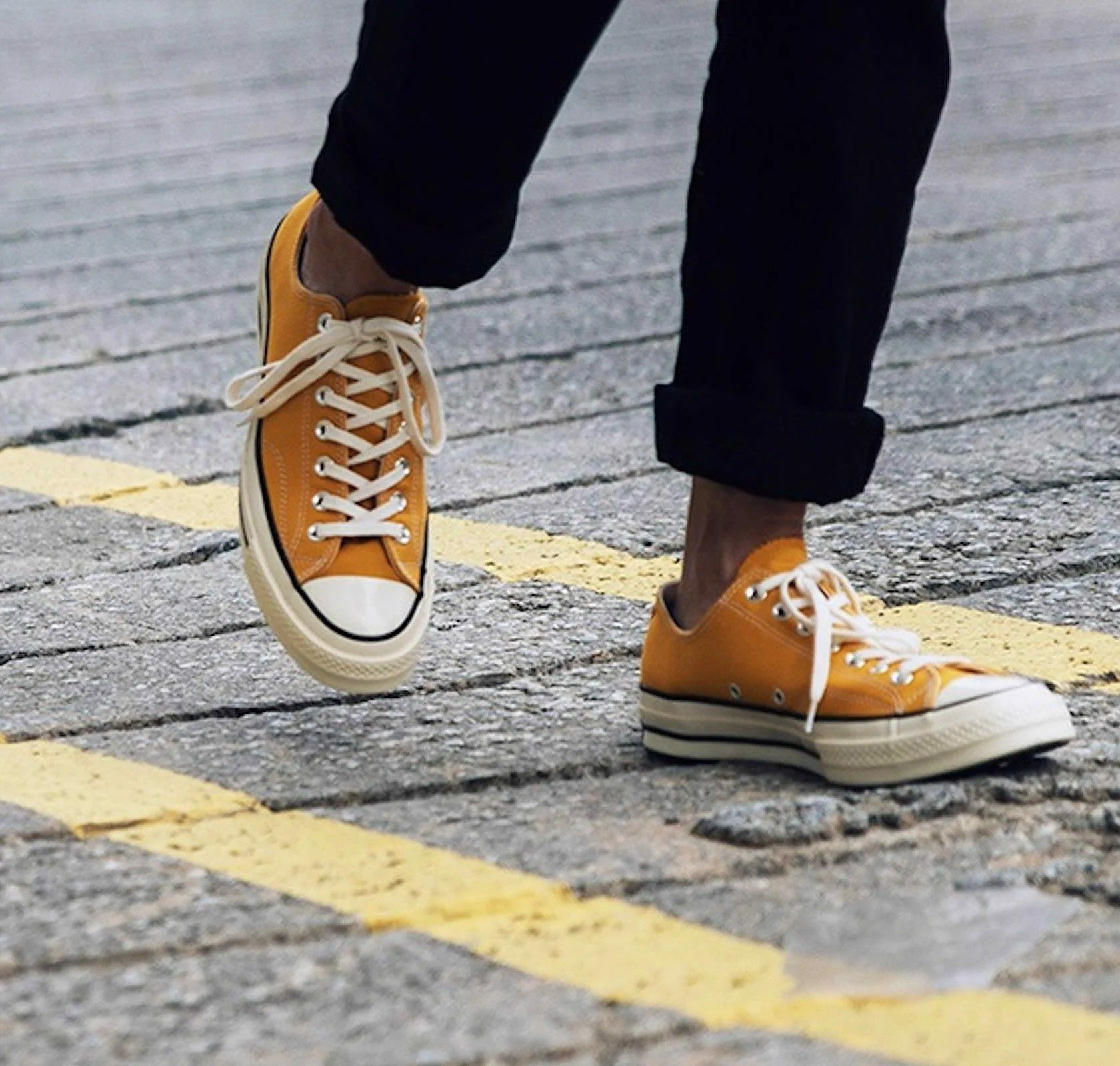 Converse Chuck 1970 Low 'Yellow' 162063C