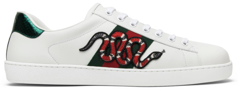 giay gucci ace embroidered snake 456230 a38g0 9064