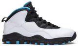 Giày Nike Air Jordan 10 Retro 'Powder Blue' 2014 310805-106