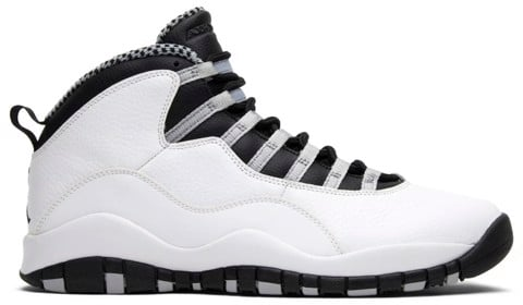 giay nike air jordan 10 retro steel 2013 310805 103