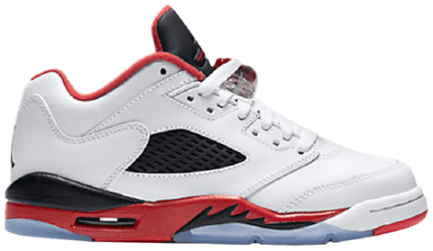 giay nike air jordan 5 retro low gs fire red 2016 314338 101