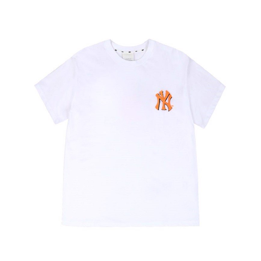 Áo MLB T Shirt New York Yankees White 31TS06031-50W