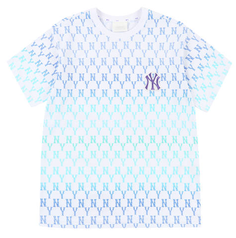 ao mlb monogram gradation biglogo overfit t shirts new york yankees 31tsmc131 50u