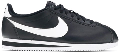 giay nike wmns classic cortez leather black white 807471 010
