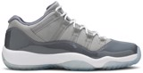 Giày Nike Air Jordan 11 Retro Low BG 'Cool Grey' 528896-003