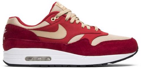 Nike Air Max 1 Premium Retro 'Red Curry' 908366-600