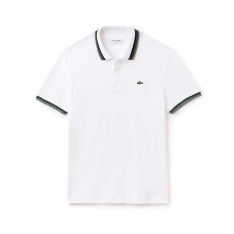 Lacoste Slim Fit Contrast Accents Stretch Pima Piqué Polo